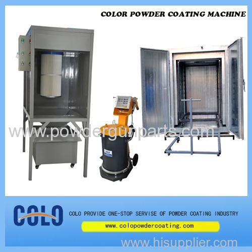 China powder spray booth