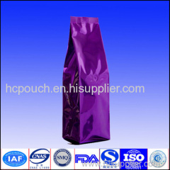 China factory custome resealable aluminum foil packaging bags