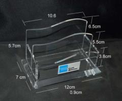 acrylic file box, acrylic file holder