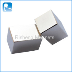 Rare Earth Neodymium Big Block Magnets N52 Strong Neodymium Motor Magnets