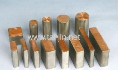 Titanium Solid Clad Copper Flat/Round Bar In Stock