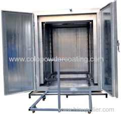 electric powder coat oven
