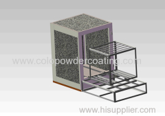 China Powder coat Oven