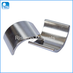 N45SH Neodymium Arc Magnets Permanent Neodymium Elevator Motor Magnets
