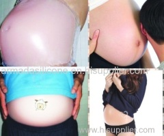 silicone artificial different sizes silicone fake pregnancy belly