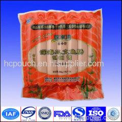 Aluminium moisture barrier vacuum packing bag whih printing