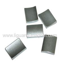 N45 Arc Sintered Neodymium Motor Magnet