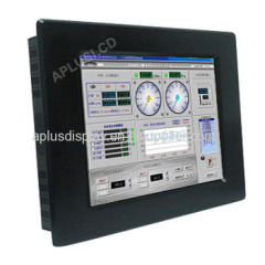19'' Panel Mount Industrial LCD Monitor with Resistive Touch
