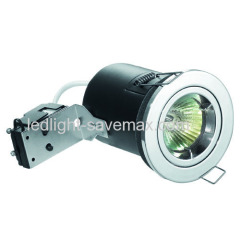 fixed fire rated downlight