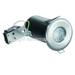 GU10/MR16 fire rated recessed downlight