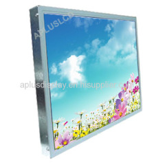 19'' Industrial Open Frame Monitor with Resistive Touch Screen,4:3,VGA,DVI Input,USB Touch Cotroller