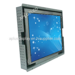 10.4'' Open Frame Touch Monitor with 5 Wire Resistive TouchScreen,VGA,DVI Input