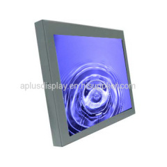 15'' Open Frame Monitor with SAW touch screen, Touch Screen Monitor,Chassis Monitor with with LED Backlight,350nits,1024