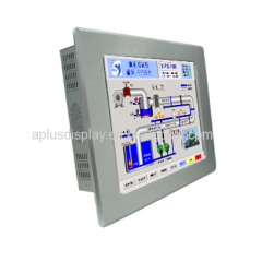 15''Industrial All in one Rugged Panel PC With aluminum front bezel and resistive touch screen, IP65 Compliance