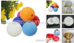 Food grade 100%Whisky silicone sphere ice ball molds