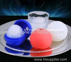 silicone ice ball mold for whisk, beer and other drinking