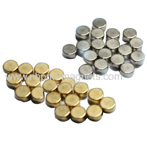 Strong permanent Sintered NdFeB Magnets