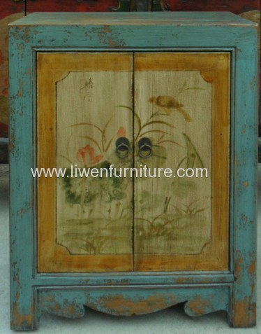 Chinese antique furniture small cabnet
