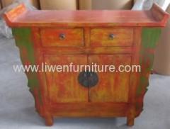antique buddha cabinet Shanxi style