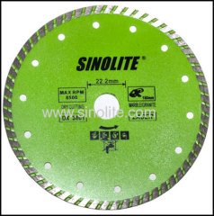 Diamond Cold-Pressed Turbo Saw Blade