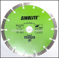 diamond cold-pressed segmented saw blades
