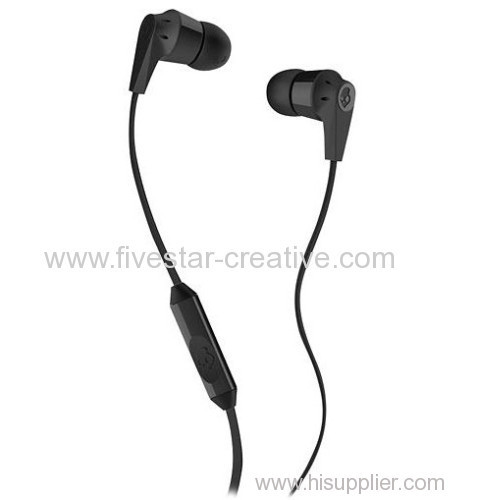 Skullcandy Ink'd 2 Earbud Headphones with Mic for iPhone iPod Black