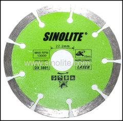 Diamond hot-pressed saw blade