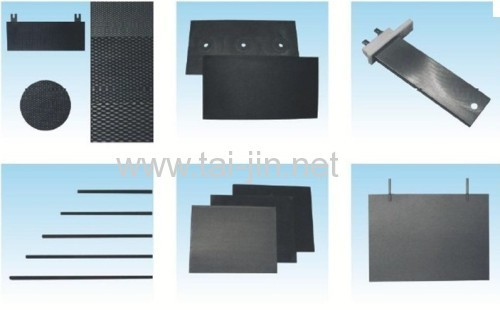 MMO Ta-Ir-Ru Tiatnium coated disk anode for water tanks