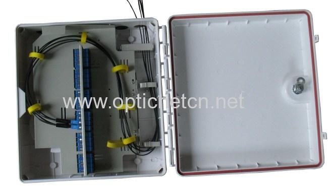 Fiber optic verteilerbox wand montage odf 48 fasern