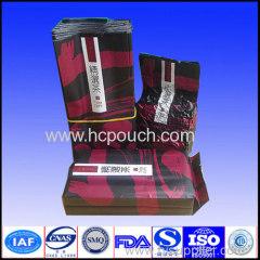 plastic aluminum foil coffee pouch