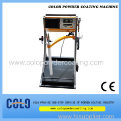 box feeder powder coating machine