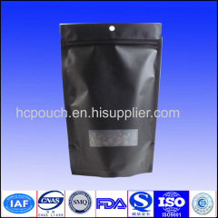 stand up coffee pouch with valve