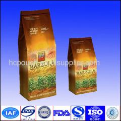 High quality stand up coffee bag