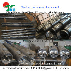 double conical screw cylinder