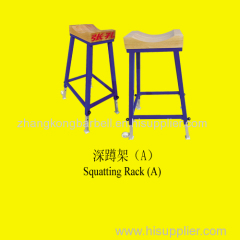 zhangkong IWF certified squatting rack A