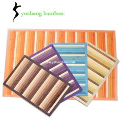 Colorful Bamboo Decorative Doormats