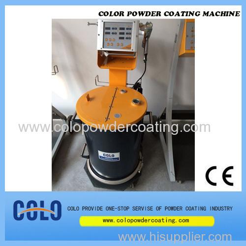 New powder coating machine