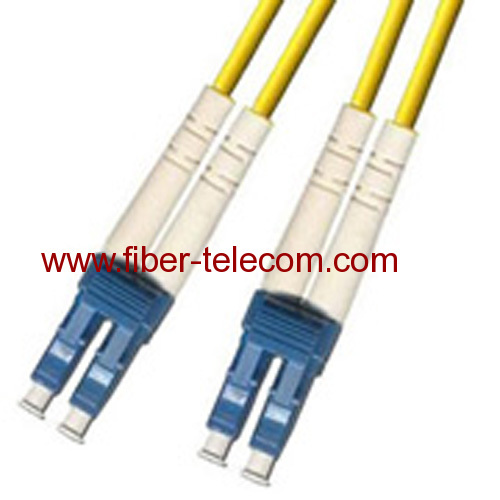 LC/PC-LC/PC Single mode Duplex Fiber Optic Patch Cord