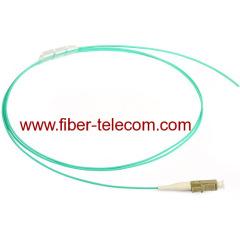 LC multimode OM3 Fiber Optic Pigtail 0.9mm