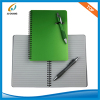 PP cover Spiral notebook with pen