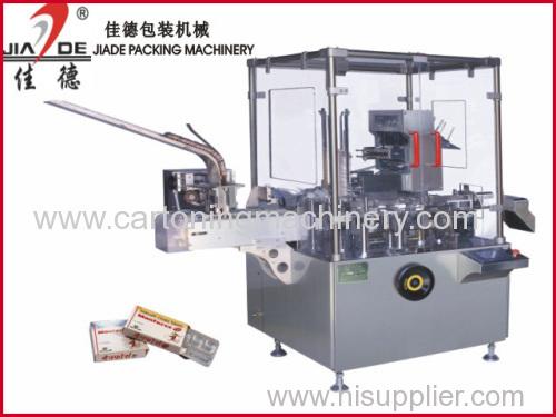Automatic cartoner machinefor blister/