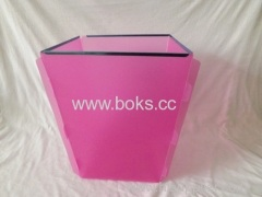 2013 plastic foldable dustbin