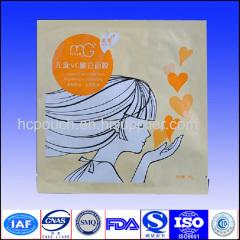 Hot selling and high qualityaluminum foil facial mask bag