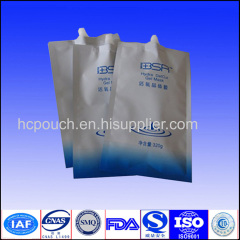Spout Bag for Cleaning and Pasteurization or Facial Mask