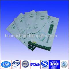 facial mask plastic package bag