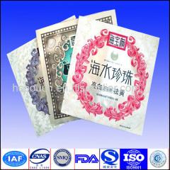 skin caring mask bags