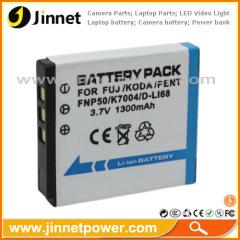 camera battery for Fuji Kodak Pentax NP-50 KLIC-7004 D-LI68