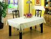 White Embossing table linen