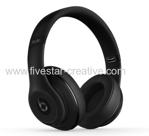 Beats by Dr.Dre Studio 2.0 Over-Ear Headphones Matte Black