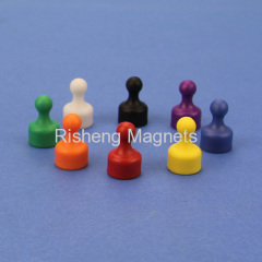 Incredibly Strong Magnetic Push Pins Assorted Colors Magnetic Thumbtacks Creative Office and Whiteboard Magnets